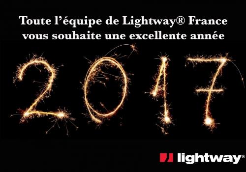 Voeux puits de lumière lightway pour 2017
